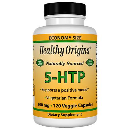 Healthy Origins 5-HTP 100 mg Capsules - 120.0 ea