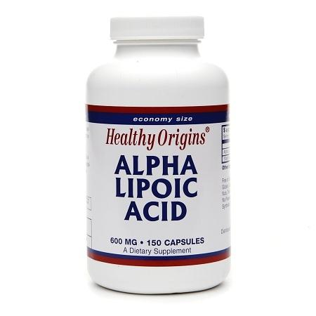 Healthy Origins Alpha Lipoic Acid, 600mg, Capsules - 150.0 ea
