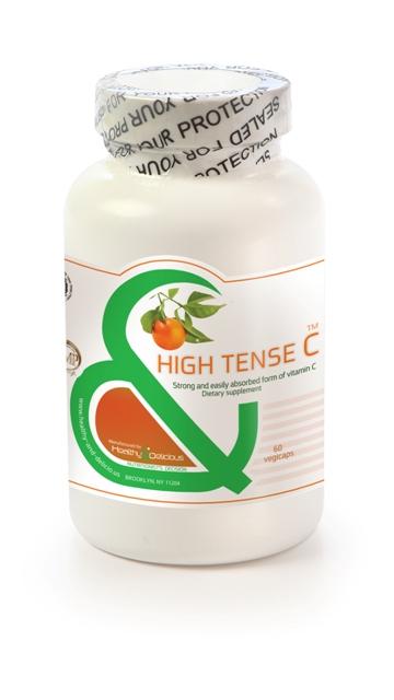 Healthy & Delicious High Tense C Optimized Absorption, 60 Vegicaps