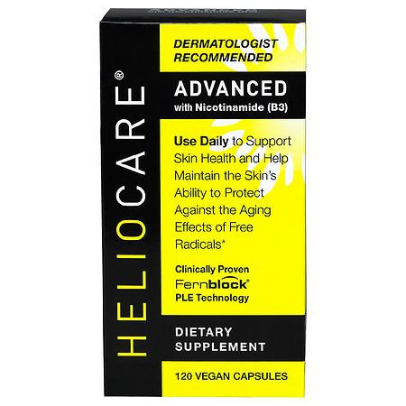 Heliocare Advanced with Nicotinamide (B3) Capsules - 120.0 ea