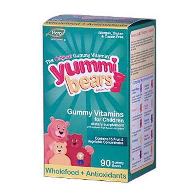Hero Nutritionals Whole Food Supplement For Kids - 90 Gummies