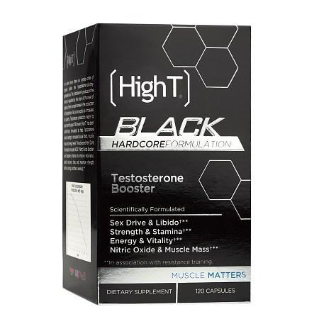 HighT Black Hardocre Testosterone Booster, Capsules - 120.0 ea
