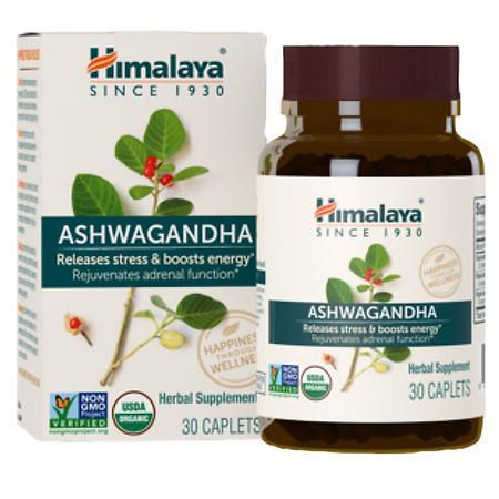 Himalaya Herbal Healthcare Ashwagandha Caplets - 30.0 ea