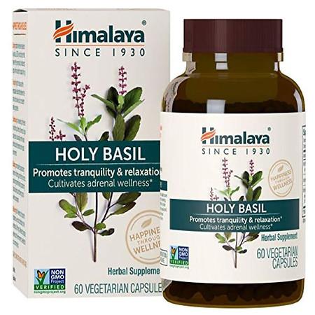 Himalaya Herbal Healthcare Holy Basil Capsules - 60.0 ea