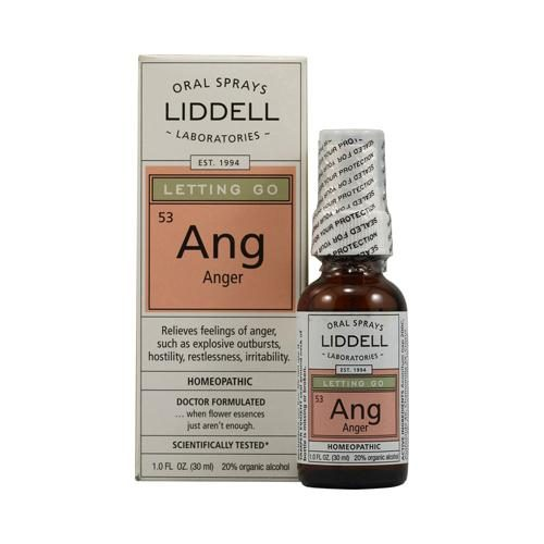 Homeopathic HG0142570 1 fl oz Letting Go Ang Anger Spray