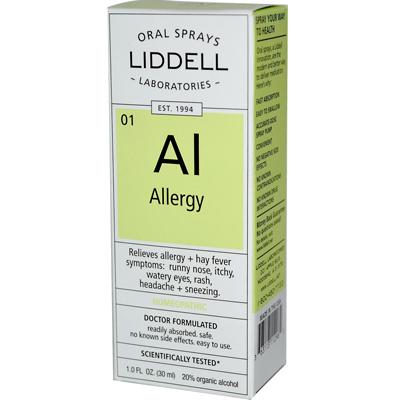 Homeopathic Oral Allergy Spray - 1 fl oz