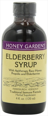 Honey Elderberry Extract 4 Oz