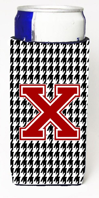 Houndstooth Letter X Michelob Ultra s For Slim Cans