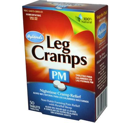 Hylands Homeopathic AY41337 Hylands Homeopathic Pm Leg Cramps -1x50 Tab