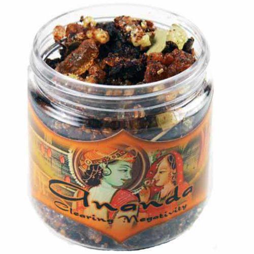IRJANA 2.4 oz Jar Ananda Resin Incense