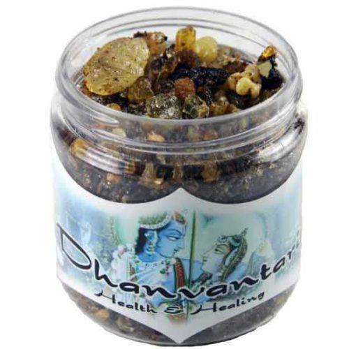 IRJDHA 2.4 oz Jar Dhanvantari Resin Incense