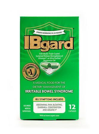 Ibgard IBS Treatment Caps - 12.0 ea