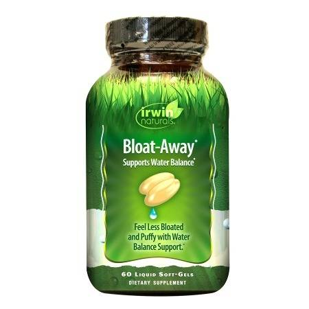 Irwin Naturals Bloat-Away Water Balance Support, Softgels - 60.0 ea
