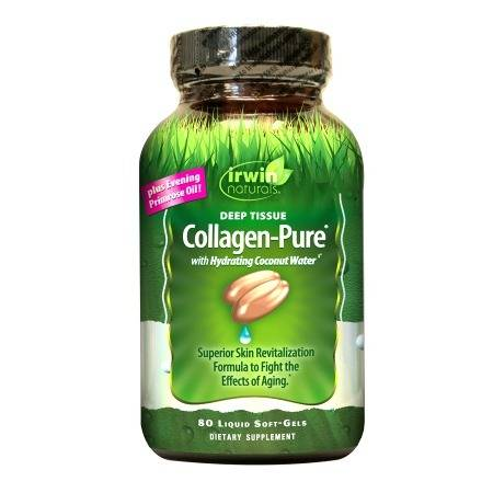 Irwin Naturals Deep Tissue Collagen-Pure with Hydrating Coconut Water, Softgels - 80.0 ea
