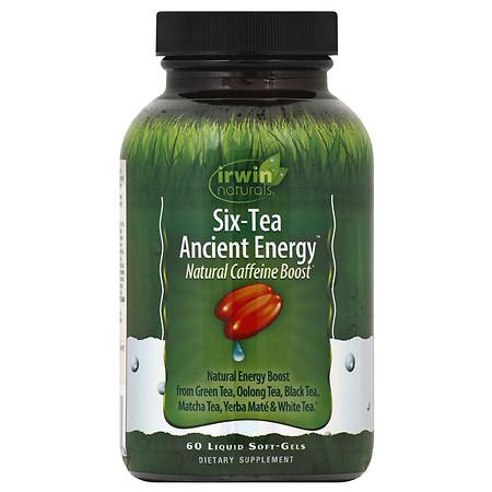 Irwin Naturals Six-Tea Ancient Energy - 60.0 ea