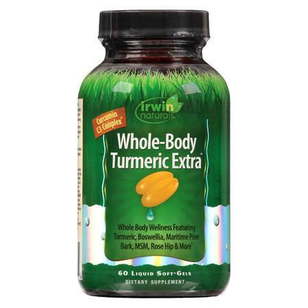 Irwin Naturals Whole-Body Turmeric Extra Liquid Softgels - 60.0 ea
