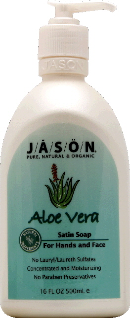 JASON SOAP SATIN ALOE VERA-16 OZ -Pack of 3
