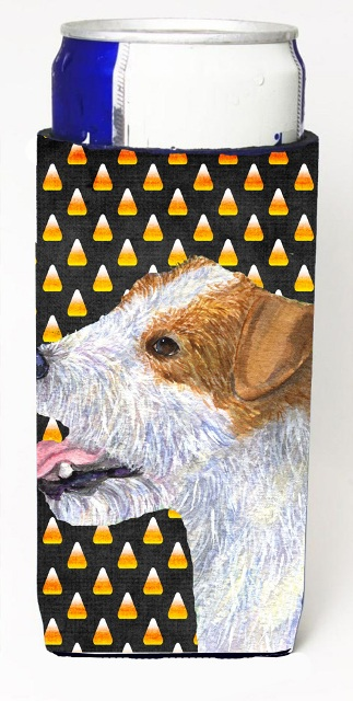 Jack Russell Terrier Candy Corn Halloween Portrait Michelob Ultra s For Slim Cans - 12 oz.