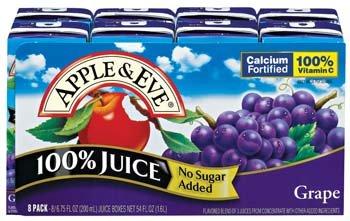 Jce Grape Aseptic 8/200 Ml (Pack of 5)