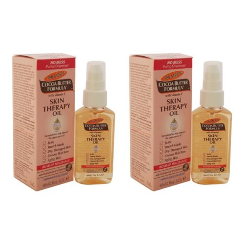 K0000183 2 oz Cocoa Butter Formula Skin Therapy Oil with Vitamin E - Rosehip Fragrance by for Women - Pack of 2
