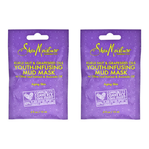 K0000211 0.5 oz Kukui Nut & Grapeseed Oils Youth-Infusing Mud Mask by for Unisex - Pack of 2