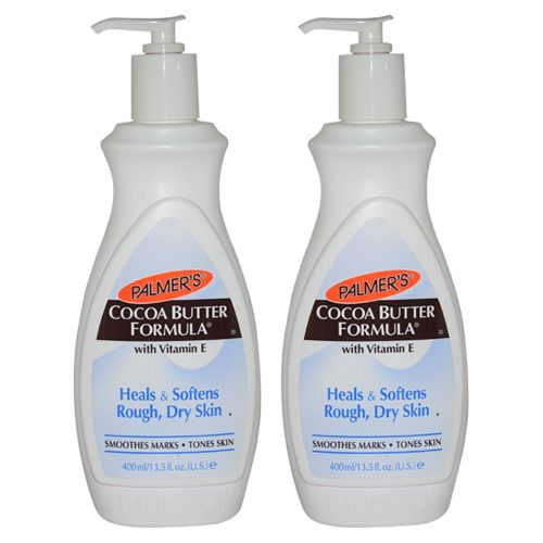 K0000234 Cocoa Butter Formula with Vitamin E Lotion for Unisex - 13.5 oz - Pack of 2