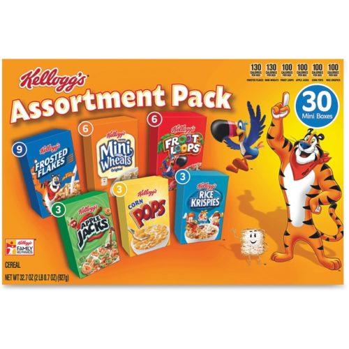 KEB14746 Mini Cereal Assortment - Pack of 30