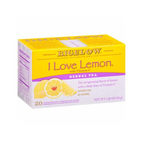 KHFM00019559 Caffeine Free I Love Lemon Herbal Tea, 20 Bags
