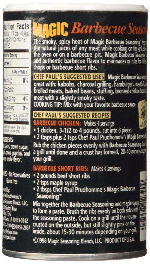 KHFM00026170 Magic Barbecue Seasoning, 5.5 oz
