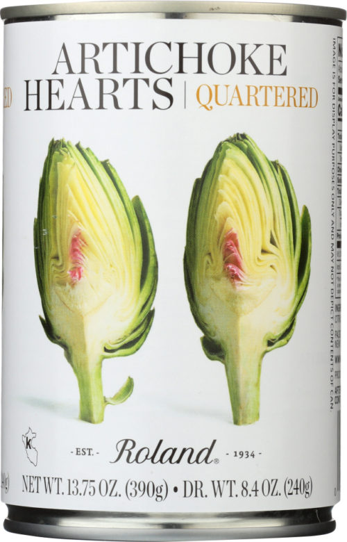 KHFM00034483 13.75 oz Quartered Artichoke Hearts Fruits