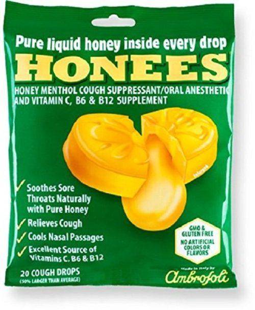 KHFM00268707 Original Honees Cough Drops Bag, 20 Piece