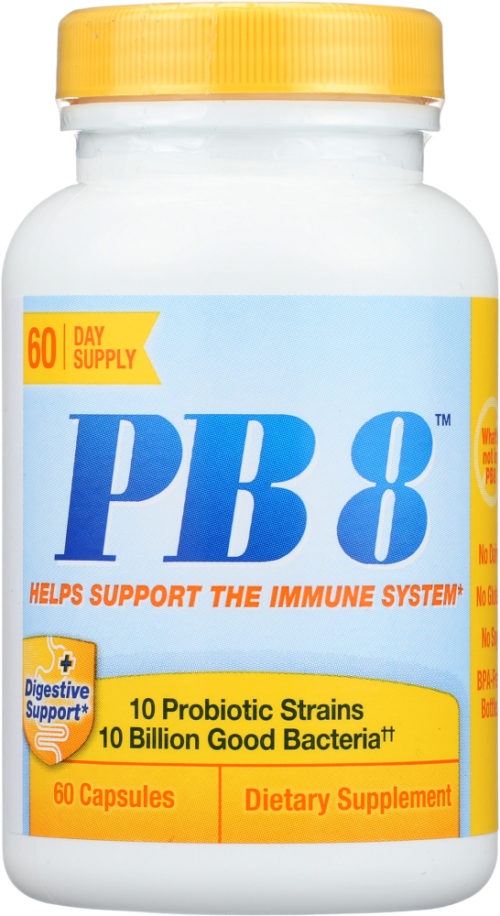 KHFM00269607 PB8 Probiotic Immune Support Supplement - 60 Capsules