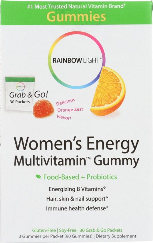 KHFM00270586 Womens Energy Multivitamin Gummy - 30 Packets