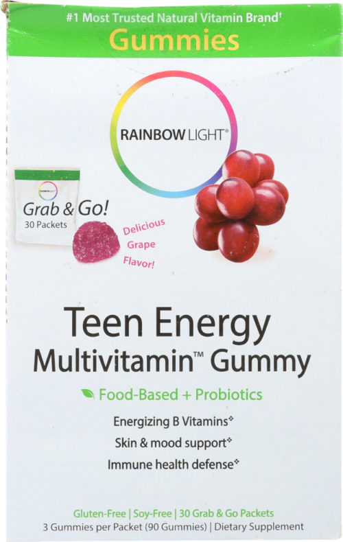 KHFM00270588 Teen Energy Multivitamin Gummy - 30 Packets