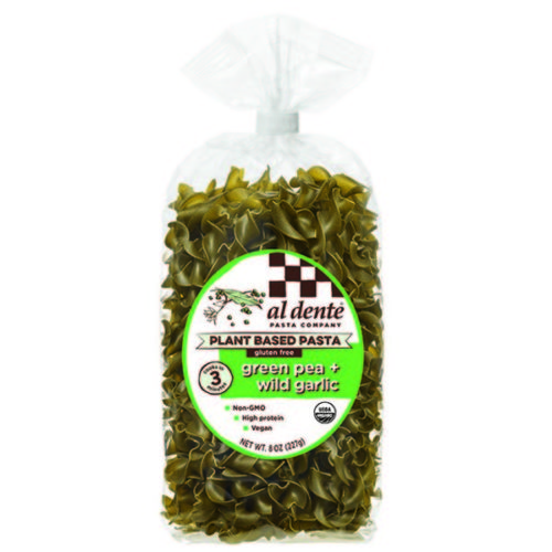 KHFM00335197 8 oz Green Pea Wild Garlic Plant Based Pasta