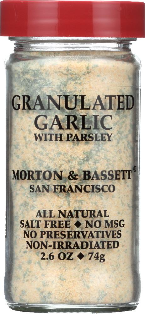 KHFM00561332 2.6 oz Granulated Garlic with Parsley
