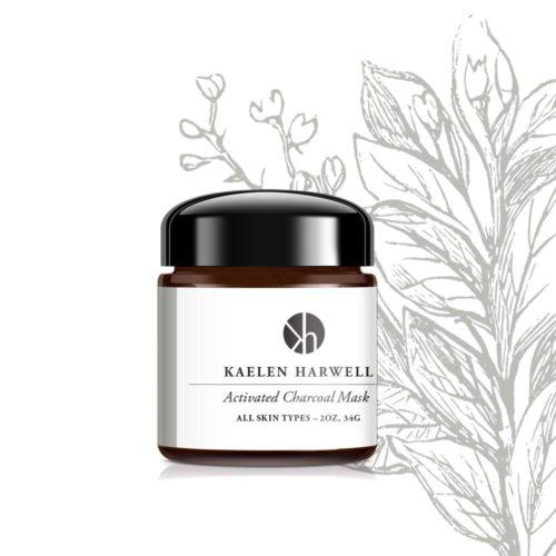 Kaelen Harwell 853008006334 Activated Charcoal Mask