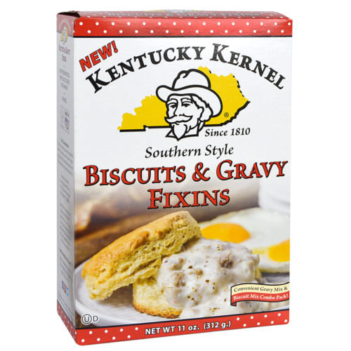 Kentucky Kernel KHFM00323191 11 oz Gravy Fixins & Mix Biscuits