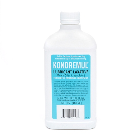 Kondremul Lubricant Laxative, Mineral Oil - 16.0 fl oz