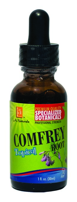 LA Naturals 1133951 1 oz Comfrey Organic Medical Liquid