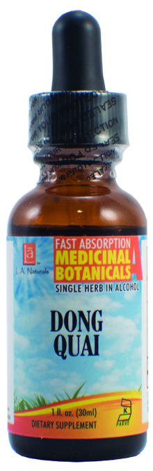 LA Naturals 1134011 1 oz Dong Quai Imported Organic Medical Liquid