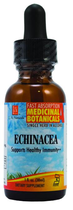 LA Naturals 1134021 1 oz Echinacea Organic Organic Medical Liquid