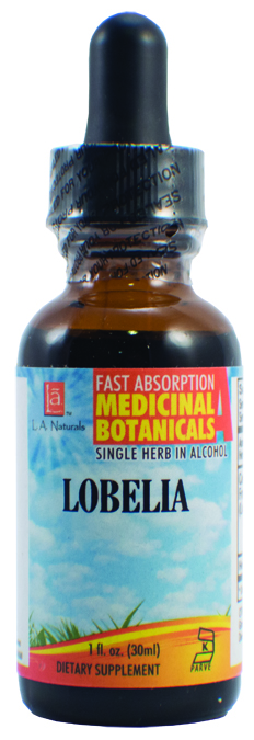 LA Naturals 1134241 1 oz Lobelia Organic Dietary Supplement