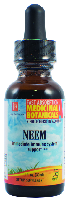 LA Naturals 1134311 1 oz Neem for Immediate immune System Support