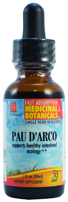 LA Naturals 1134381 1 oz Pau D Arco Imported for Supports Healthy Intestinal Ecology