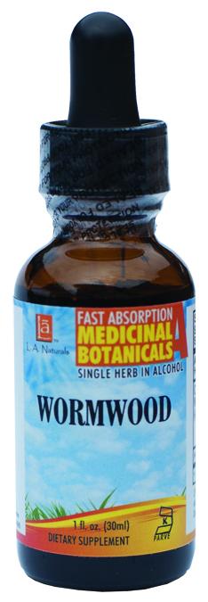 LA Naturals 1134631 1 oz Wormwood Organic Dietary Supplement