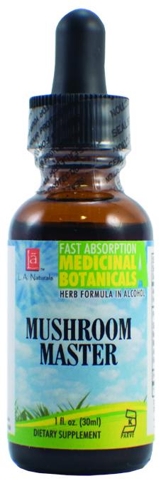 LA Naturals 1134841 1 oz Mushroom Master Dietary Supplement