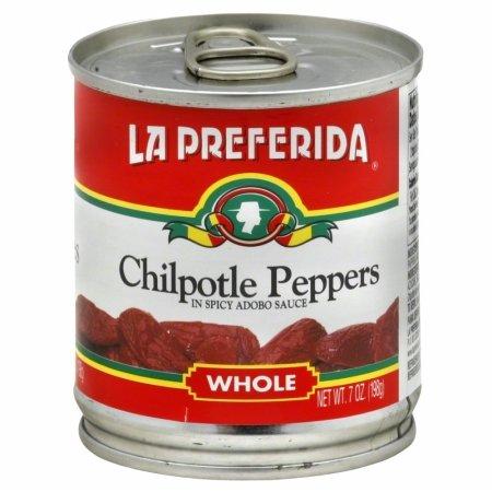 LA PREFERIDA PEPPER CHIPOTLE WHL-7 OZ -Pack of 24