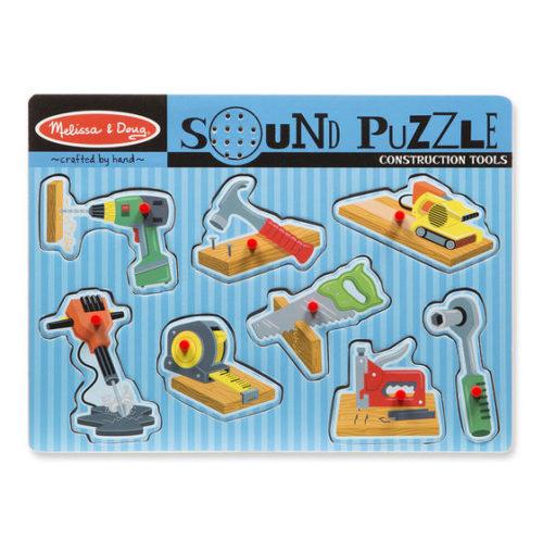 LCI733 Construction Tools Sound Puzzle