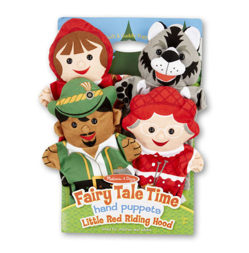 LCI9088 Fairy Tale Time Hand Puppets - Red